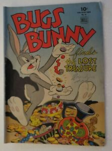 Dell Four Color #51, Bugs Bunny, 1944, VG/VG-, Pencil On Cover,