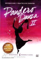 DVD Instruccion y Practica de Pandero y Danza II Coreografias - Musica Cristiana