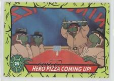 1990 Topps Teenage Mutant Turtles Ireland #24 Hero Pizza Coming Up! Card 0b5