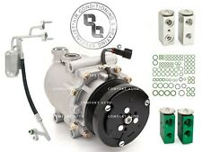 New AC Compressor Kit 04 Ford Expedition 5.4L With REAR A/C 1 Year Warranty