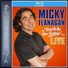 MICKY FLANAGAN - BACK IN THE GAME- LIVE *BRAND NEW  BLU-RAY *
