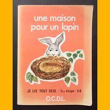 Collection Je Lis Tout Seul LE BÉBÉ OISEAU J. Melser E. Plocki 1974