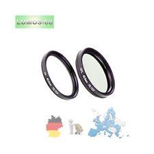 40,5mm UV Filter Polfilter Zubehör passt zu Sony 16-50 SEL-P1650 an Alpha 6000