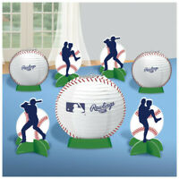 BASEBALL RAWLINGS Party Decorations Table Decorating Kit Centerpiece Sports Ball