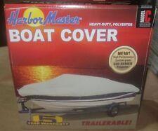 Harbor Master Model C 600 Denier Grey Trailerable Boat Cover 17 - 19 ft NEW