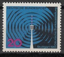 TIMBRE ALLEMAGNE  NEUF N° 348 ** RADIOTELEVISION A STUTTGART