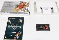 Nintendo Gameboy Advance Kingdom Hearts Chain of Memories Japan GBA w/box