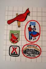 Vintage Iron On Patch Camping, Trucker, Jacket LOT OF VARIOUS #OF-05