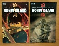 Ronin Island 3 2019 Giannis Milonogiannis Main Cover + Ethan Young Variant NM+