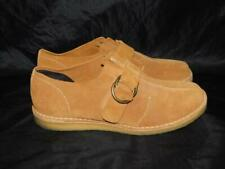 Pointer 43 12.5 13 Higgle Brown Suede Desert Shoes Buckle Crepe Sole Flats