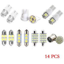 14PCS White LED Interior Lights T10 31MM for Map Dome License Plate Lights Kit
