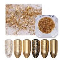 0.2g Gold Nagel Streife 3D Nail Art Dekoration Metall Wire Linie BORN PRETTY