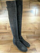 Stuart Weitzman Womens Dark Brown Suede 5050 Over the Knee Boots Size 8.5 M