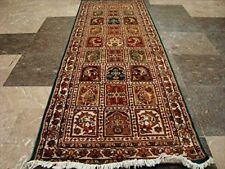 New Exclusive Bakhtiari Hand Knotted Runner Rug Wool Silk Carpet (5.10 x 2.0)'