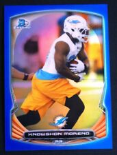 2014 Bowman Chrome Blue Refractors #54 Knowshon Moreno /199 - NM-MT