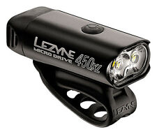 Lezyne Micro Drive 450XL LED Front Headlight Bike Bicycle Light Black 450 Lumen