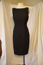 Cache Career Contour Collection Soft Black Sheath Dress 4 S Small