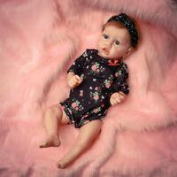 "22"" Reborn Baby Dolls Full Body Soft Silicone Vinyl Newborn Girl Doll Xmas Gift"