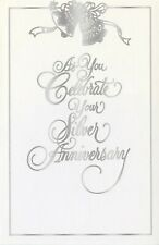 Popular Greetings Silver Anniversary Card: May the Love & Memories You Share...