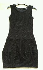💕 BRAND NEW BLACK LACE DRESS SIZE 8 WAREHOUSE