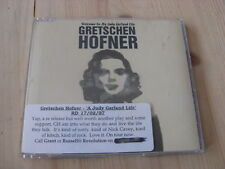 Gretschen Hofner:  Judy Garland Life  PROMO   CD Single     NM