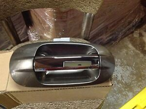 NEW OEM 2007 2010 LINCOLN NAVIGATOR RIGHT FRONT OUTER DOOR HANDLE PEWTER METALIC