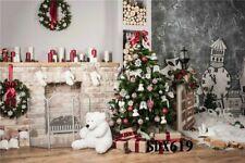 7x5ft Vinyl Photography Background Backdrop Christmas Photo Studio Props