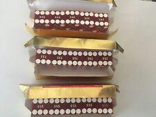 3 sticks of Binion's Horseshoe Casino dice matching numbers paul-son gaming