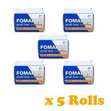 5 Rolls x FOMAPAN 200 Profi Line Creative Black & White Film 35mm 36exp by FOMA