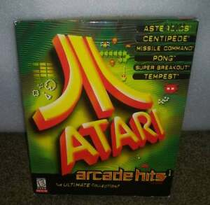 Atari Arcade Hits 1 (PC, 1999)  BIG BOX