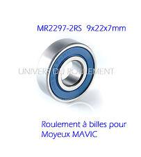 9X22X7 2297 2RS (2pcs) ROULEMENT A BILLES KANZEN pour MAVIC MOYEU ARRIERE HUB