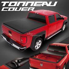 """HIDDEN ROLL-UP VINYL TONNO TONNEAU COVER FOR 04-12 CANYON/COLORADO 6'2""""LONG BED"""