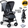 Hauck Foldable Lightweight Baby Kids Pushchair Pram Buggy Stroller + Raincover