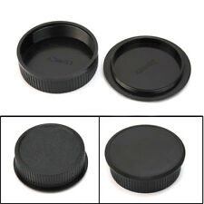 42mm Plastic Front Rear Cap Cover For M42 Digital Camera Body And Lens Fast