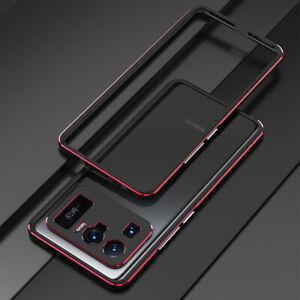 For Xiaomi Mi 11 Ultra Metal Aluminum Bumper Frame Back case + Metal lens Film