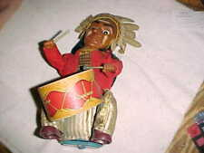 Alps Japan Indian Chief Drummer Battery Op Toy - As Is