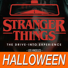 Stranger Things Drive-Into Experience 10/31 Halloween 10:15pm 5pers. Los Angeles