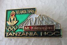 1996 ATLANTA OLYMPICS TANZANIA NOC  Pin Badge