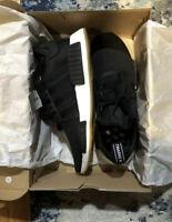 New Adidas Men's Originals NMD R1 Shoes (B42200)  Black-Gum-White **Size 10**