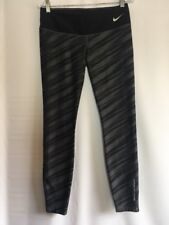 Nike Dri Fit Brigham Young BYU University Cropped Ankle Tights Athletic Workout