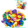 100 x Hair Bobbles Elastic Kids Mini Ponio Ponytail Band Endless Snag Free Candy