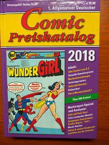 COMIC PREISKATALOG 2018,  Hardcover, Stefan Riedl