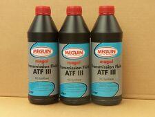 4,97€/l Meguin Transmission Fluid ATF III rot 3 x 1 L Dexron III MB 236.1 236.6