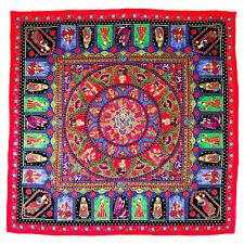 New ITALO FERRETTI Square Red Fashion Shawl Wrap Scarf Headscarf Hijab MSRP $295