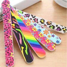 Nail Art Sanding Files Polish Care Acrylic Block Buffer Manicure Tips Tools 5pcs