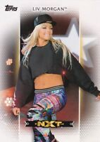 2017 Topps WWE Women's Division, Roster Card # R-7 Liv Morgan