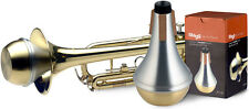Stagg MTR-S3B Aluminium Straight Trumpet Mute With Brass Bottom