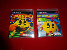 EMPTY CASES - Ms. Pac-Man Maze Madness Pac-Man World Sony PlayStation 1 PS1 PS3