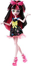 Monster High DVH67 électrifié Hair-raising goules draculaura doll