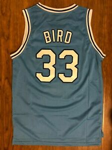 Larry Bird #33 Jersey Indiana State Men's Basketball Jersey All Stitched S-XXL